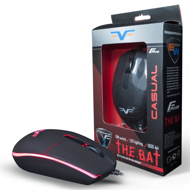 Миша Frime The BAT, USB (FMC1810) - зображення 1