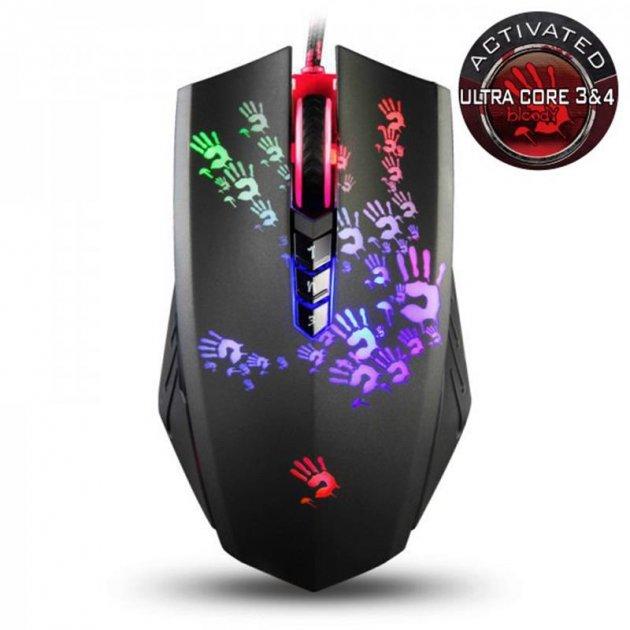 Мышь A4Tech A60A Bloody Black USB - изображение 1