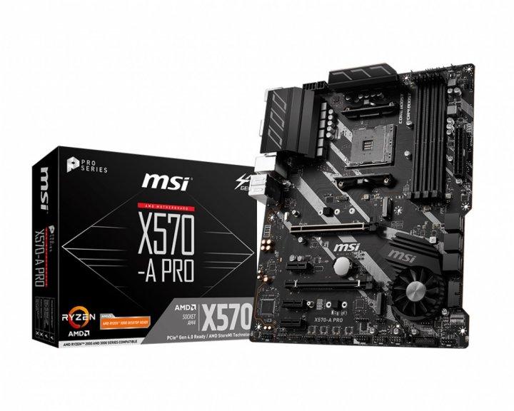 Материнская плата MSI X570-A Pro Socket AM4 - изображение 1