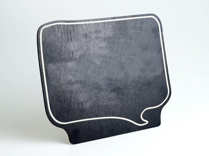 Меловая табличка LEGNA Прямоугольник 282х234 мм (MT-T-01) - изображение 1