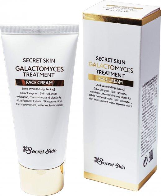 Крем для лица Галактомисис Secret Skin Galactomyces Treatment Face Cream 50 г (8809540517212) - изображение 1