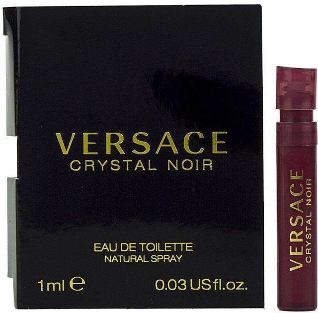 Пробник Туалетная вода для женщин Versace Crystal Noir 1 мл (8011003809806) - изображение 1