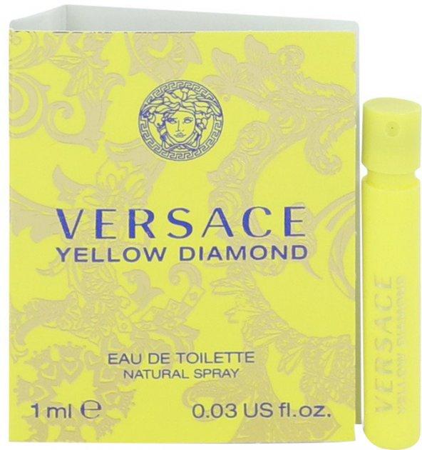 Пробник Туалетна вода для жінок Versace Yellow Diamond 1 мл (8011003809820) - зображення 1