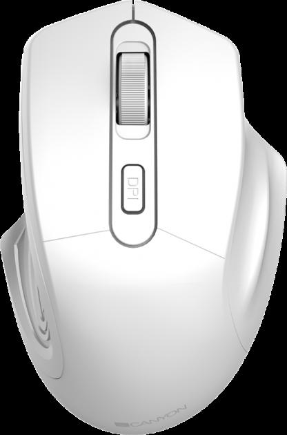 Миша Canyon CNE-CMSW15PW Wireless Pearl White - зображення 1