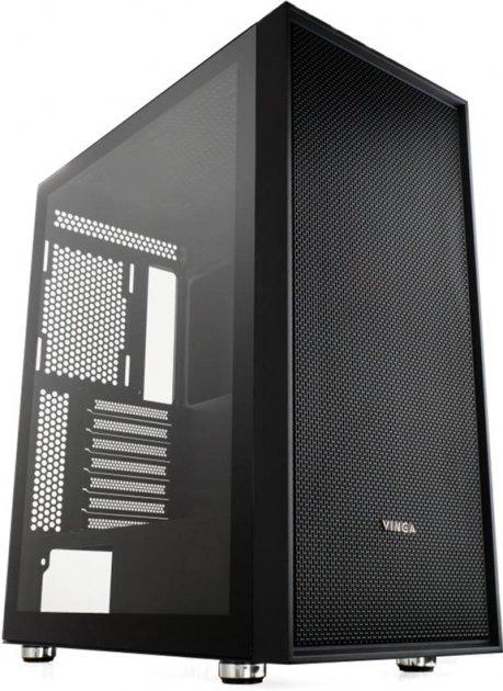 Корпус Vinga Pillar Black - зображення 1