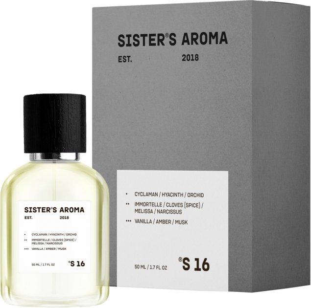 Парфюмированная вода унисекс Sister's Aroma 16 100 мл (4820227780181) - изображение 1