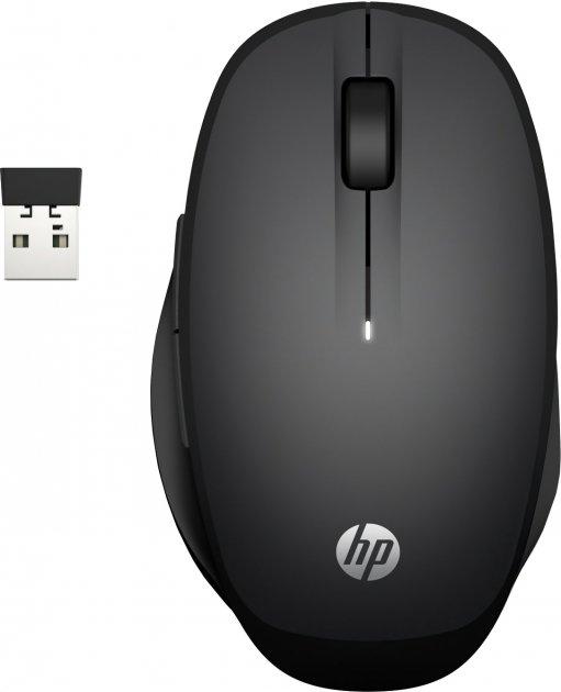 Мышь HP Dual Mode Mouse Black (6CR71AA) - изображение 1