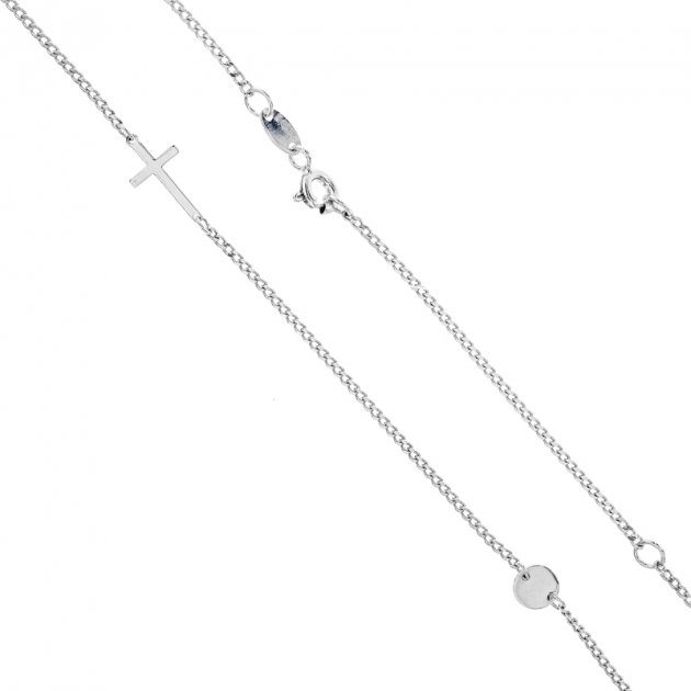 Колье Diamant Л0190с (440926) 450 мм - изображение 1