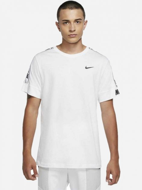 Футболка Nike M Nsw Repeat Tee Ss CZ7829-100 XL (194498114100) - изображение 1