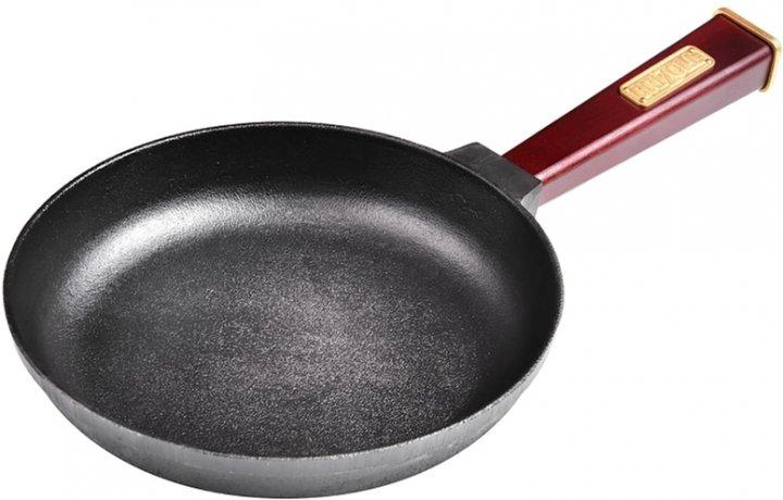 Сковорода Brizoll Optima-bordo чавунна з ручкою 200х35 мм (559-311) - зображення 1
