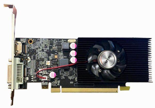 AFOX GeForce GT1030 2GB GDDR5 64Bit DVI-HDMI Low profile - зображення 1