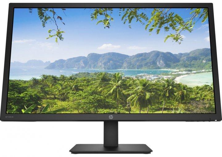 """Монітор LCD 27.9"""" HP V28, D-Sub, HDMI, IPS, 3840x2160, 60Hz, 5ms - зображення 1"""