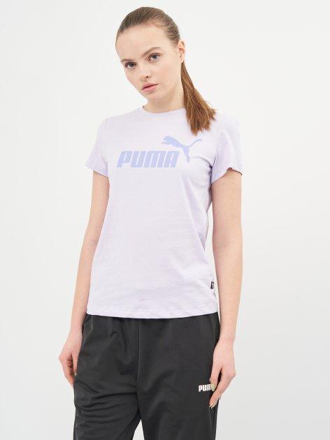 Футболка Puma ESS Logo Tee 58677516 L Light Lavender (4063697273665) - изображение 1