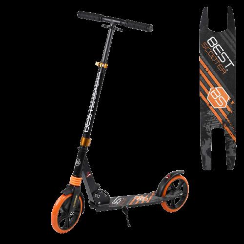 Самокат підлітковий дорослий, Best Scooter, DGYO-2373, помаранчевий - зображення 1