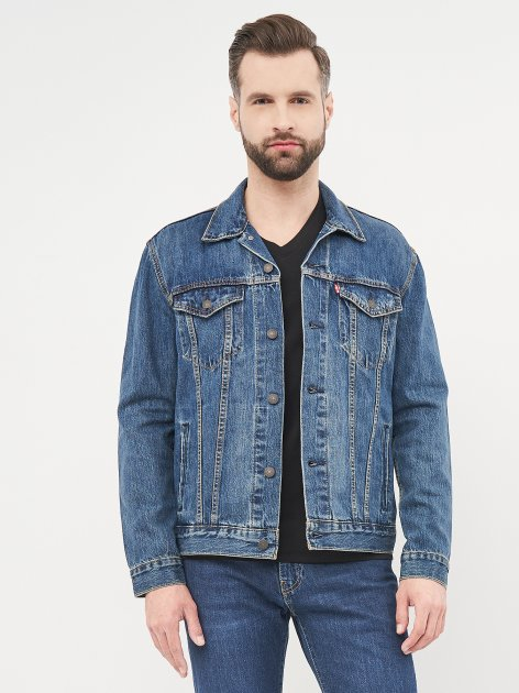 Джинсова куртка Levi's The Trucker Jacket Mayze 72334-0354 M (5400599916426) - зображення 1
