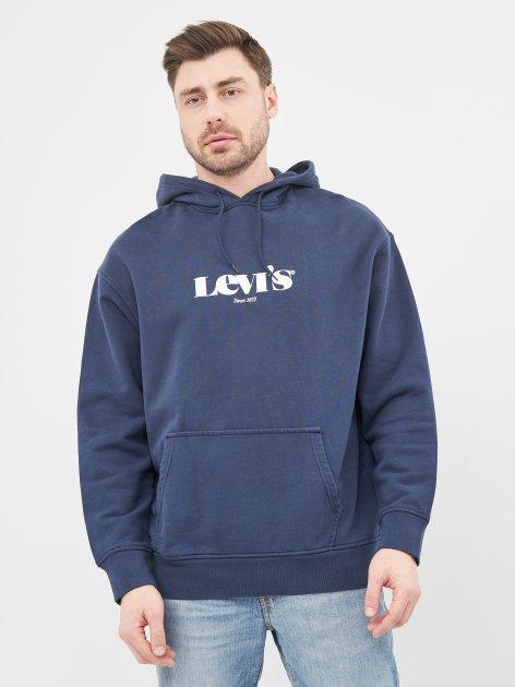 Худи Levi's T2 Relaxed Graphic Po Mv Logo Po Dress 38479-0026 L (5400898766661) - изображение 1