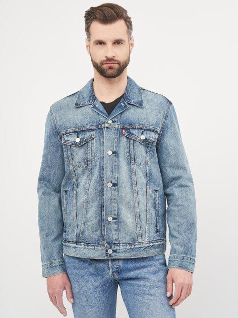 Джинсова куртка Levi's The Trucker Jacket Killebrew 72334-0351 XXL (5400599782670) - зображення 1