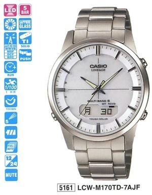 Годинник CASIO LCW-M170TD-7AER - зображення 1