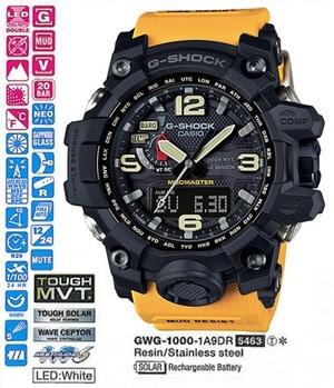 Годинник CASIO GWG-1000-1A9ER - зображення 1