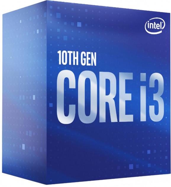 Процессор Intel Core i3 (LGA1200) i3-10100F, Box (BX8070110100F) - изображение 1