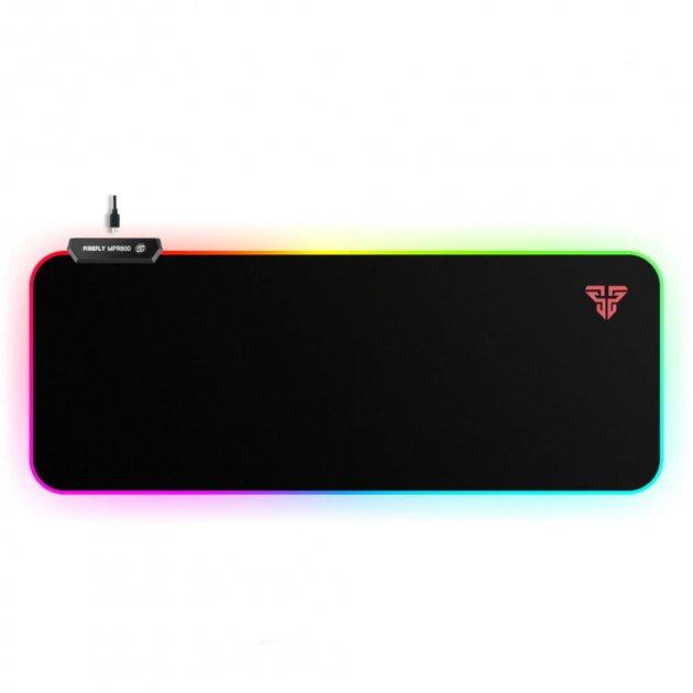 Игровая поверхность Fantech Firefly MPR800 RGB Black (MPR800b) - изображение 1