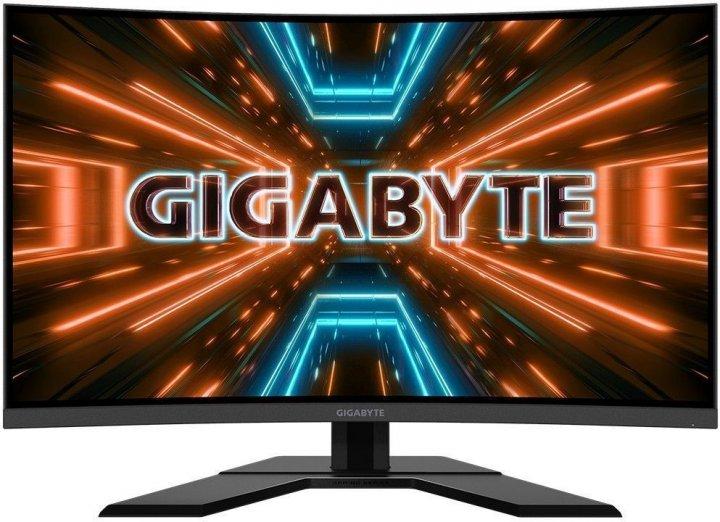 Монитор Gigabyte G32QC Gaming Monitor (G32QC Gaming Monitor) - изображение 1