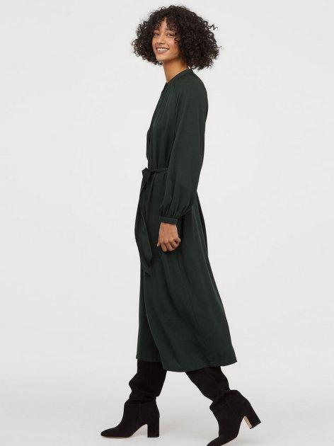 Плаття H&M 0787237-0 40 Темно-зелене (2000001811009) - зображення 1