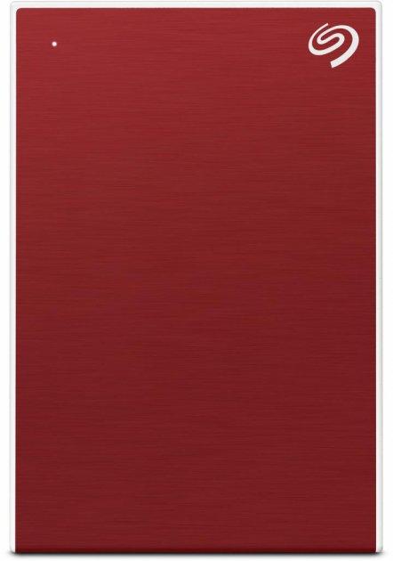 Жорсткий диск Seagate One Touch 1 TB STKB1000403 2.5 USB 3.2 External Red - зображення 1