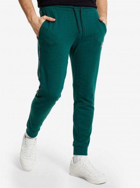 Спортивные штаны Kappa 107941-74 52 Темно-зеленые (4670036624646) - изображение 1