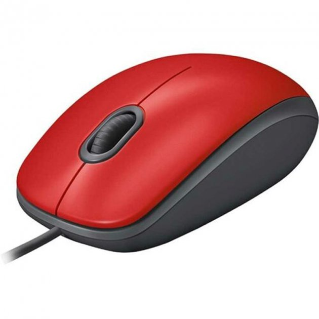 Миша Logitech M110 Silent (910-005489) Red USB - зображення 1