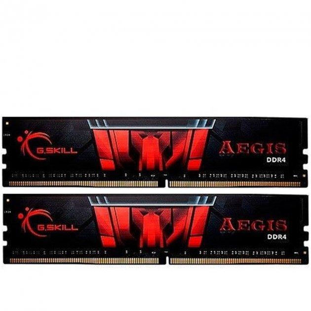Модуль пам'яті DDR4 2x8GB/3000 G. Skill Aegis (F4-3000C16D-16GISB) - зображення 1