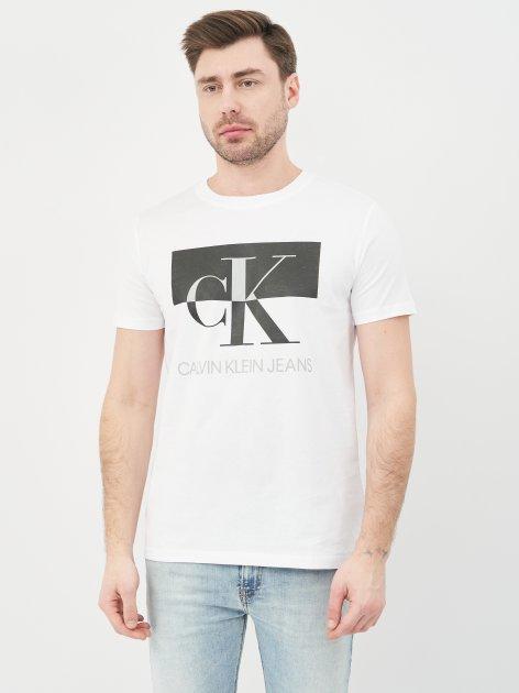 Футболка Calvin Klein Jeans 10491.2 S (44) Белая - изображение 1