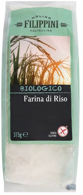 Мука Molino Filippini рисовая 375 г (8000454400311) - изображение 1