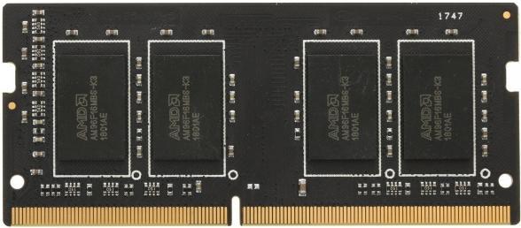 Оперативна пам'ять AMD SODIMM DDR4-2400 4096MB PC4-19200 R7 Performance Series (R744G2400S1S-U) - зображення 1
