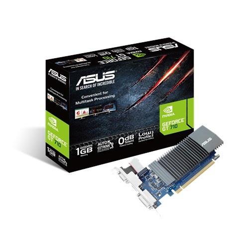 Відеокарта GF GT 710 1GB GDDR5 Asus (GT710-SL-1GD5) - зображення 1