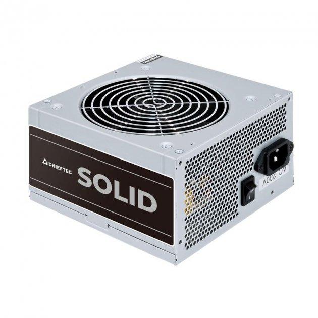 Блок питания Chieftec GPP-500S, ATX, APFC, 12cm fan, КПД >85%, bulk - изображение 1