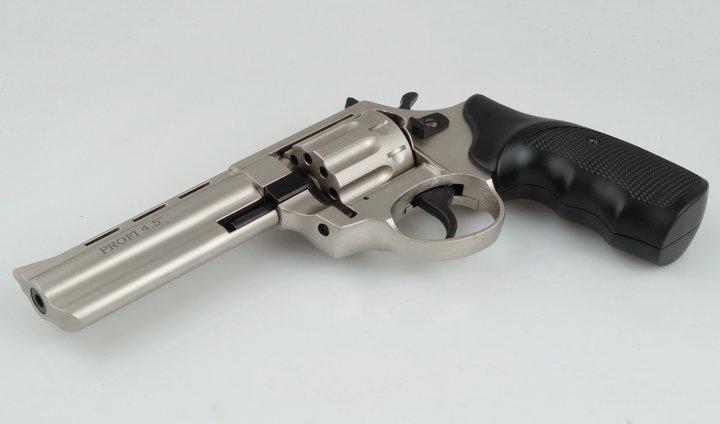 Револьвер Zbroia PROFI 4.5″ (сатин/пластик) - изображение 1