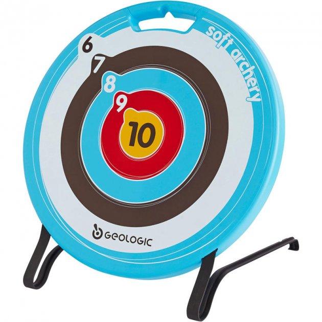Мішень для Стрільби з Лука GEOLOGIC Пластик Синя для Стріл на Присоску - зображення 1