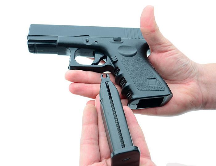 Страйкбольный пистолет Глок 17 (Glock 17) Galaxy G15 - зображення 1