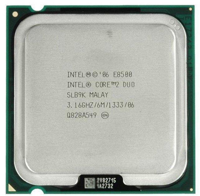 Процесор Intel Core 2 Duo E8500 3.16 GHz/6M/1333 (SLB9K) s775, tray - зображення 1