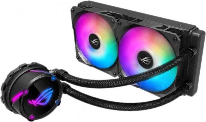 Система рідинного охолодження ASUS ROG Strix LC 240 Aura Sync RGB (ROG-STRIX-LC-240-RGB) - зображення 1