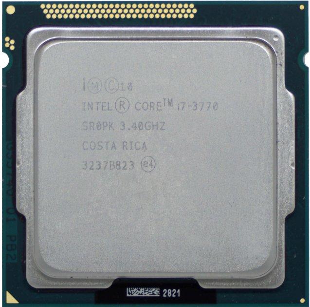Процессор Intel Core i7-3770 3.4GHz/8MB/5GT/s (SR0PK) s1155, tray - изображение 1