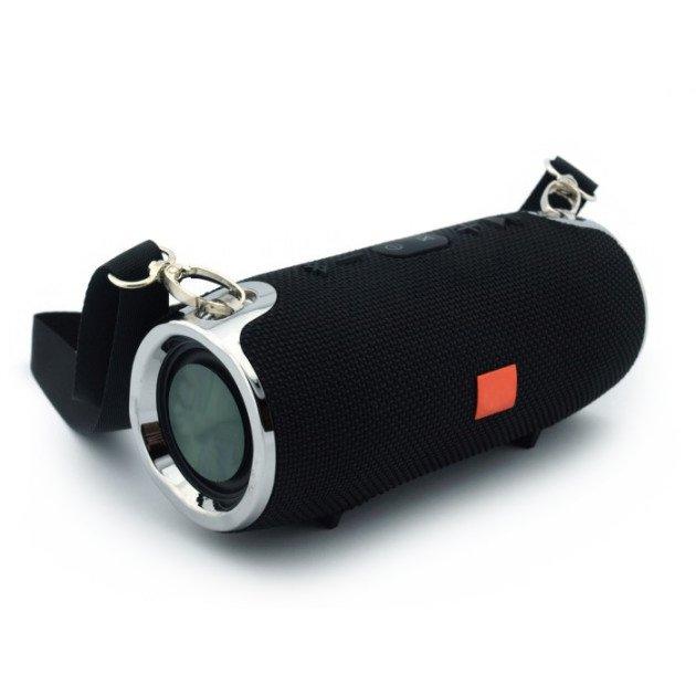 Портативная Bluetooth колонка T&G Portable Speaker XTR mini, громкая связь, FM радио, черная - изображение 1