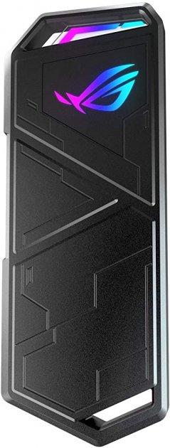 Зовнішня кишеня Asus ROG Strix Arion для M.2 SSD NVMe (PCIe) — USB 3.2 Type-C (ESD-S1C/BLK/G/AS) - зображення 1