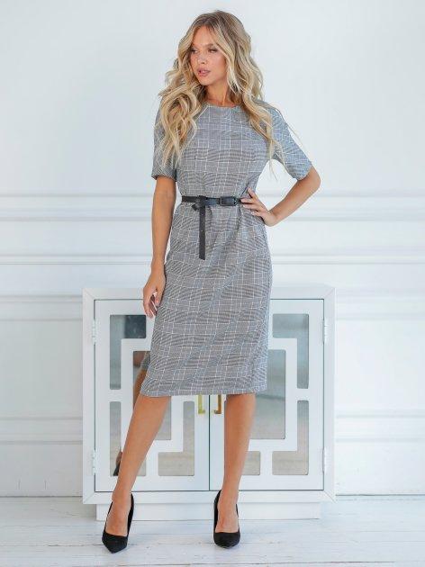 Платье New Fashion 385 42 Серое (2000000491936) - изображение 1