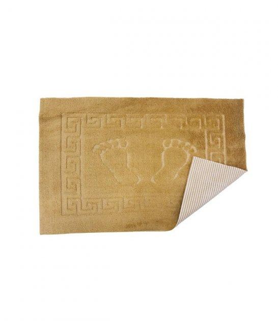 Коврик для ванной комнаты Vende прорезиненные Ножки 50*70 золотой (ts-02454) - зображення 1