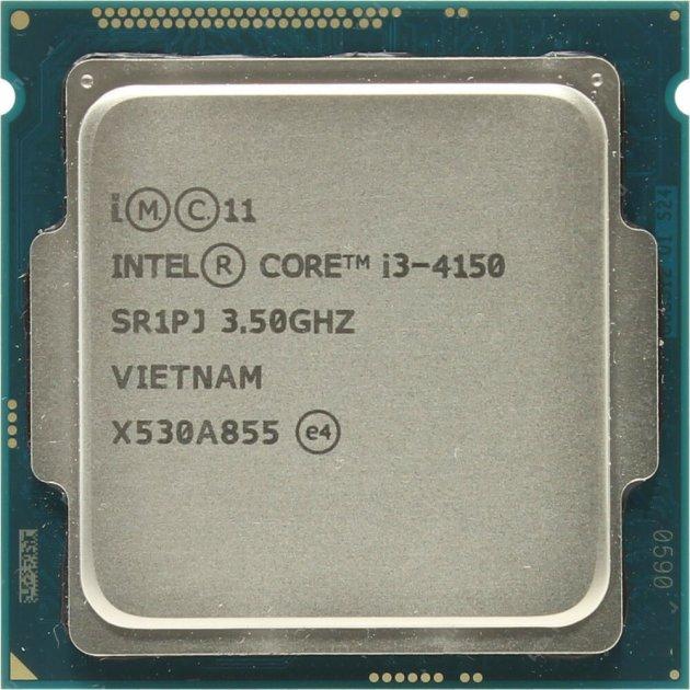 Процесор Intel Core i3-4150 3.5 GHz/3MB/5GT/s (SR1PJ) s1150, tray - зображення 1
