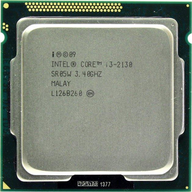 Процесор Intel Core i3-2130 3.4 GHz/3MB/5GT/s (SR05W) s1155, tray - зображення 1
