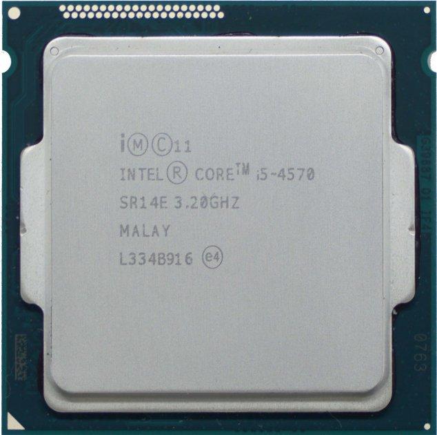 Процесор Intel Core i5-4570 3.20 GHz/6MB/5GT/s (SR14E) s1150, tray - зображення 1