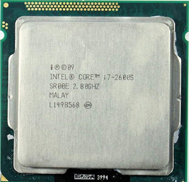 Процесор Intel Core i7-2600S 2.80 GHz/8MB/5GT/s (SR00E) s1155, tray - зображення 1